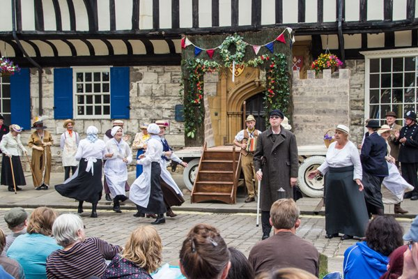York Mystery Plays 2014-Entry To Jerusalem