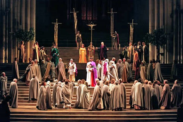 The Millennium York Mystery Plays in York Minster 2000