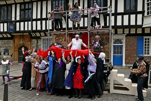 York Mystery Plays Waggons 2018 - The Harrowing Of Hell